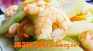 冬瓜炒虾仁材料和做法